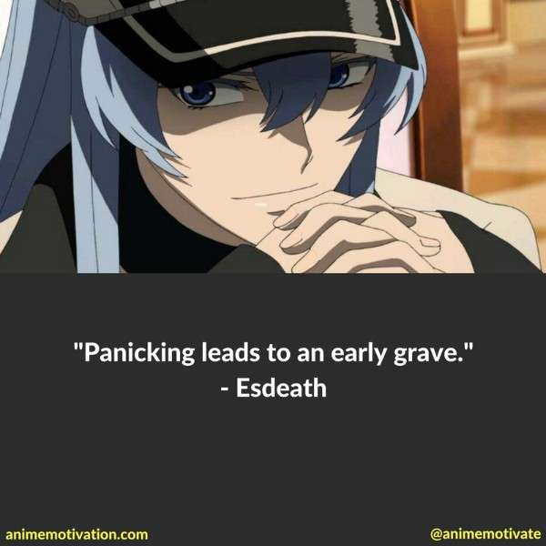Esdeath Quotes Akame Ga Kill 1