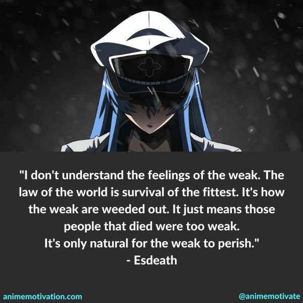 Esdeath Quotes Akame Ga Kill 2