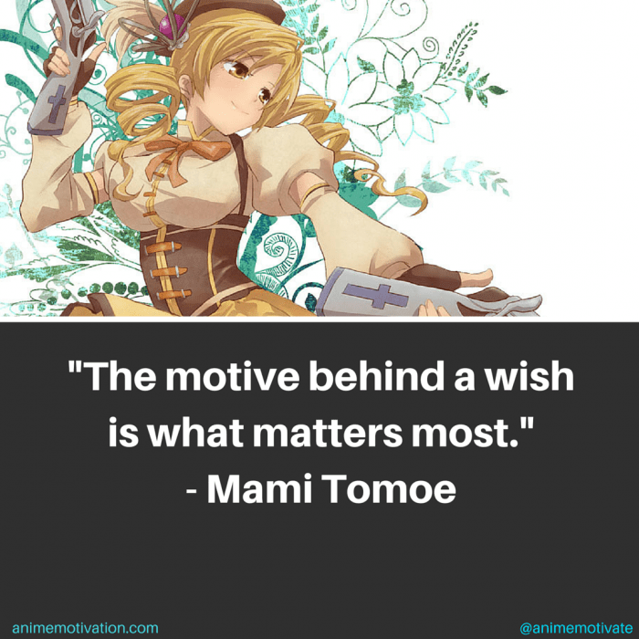 Mami Tomoe Quotes 1