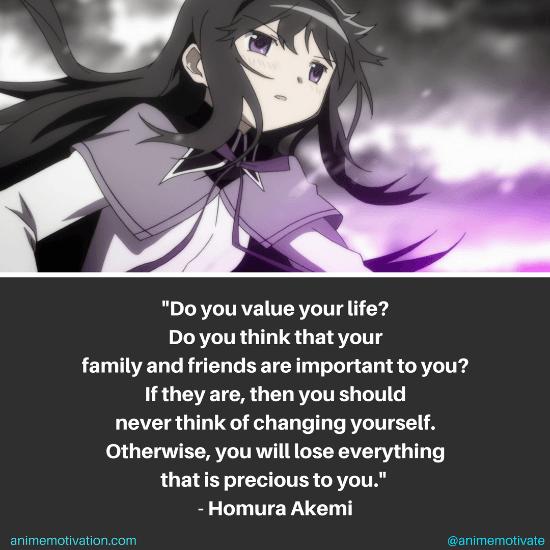 Homura Akemi Quotes 6