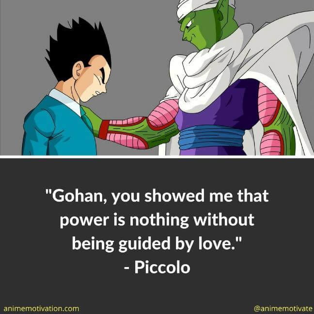 4 Piccolo Quotes From DBZ That Are Full Of Wisdom