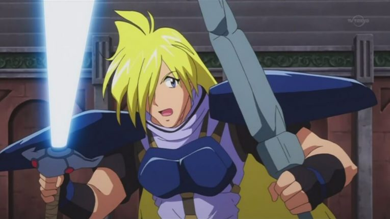 Gourry Gabriev Slayers Anime