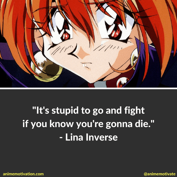 5 Lina Inverse Quotes That Are Worth Thinking About
