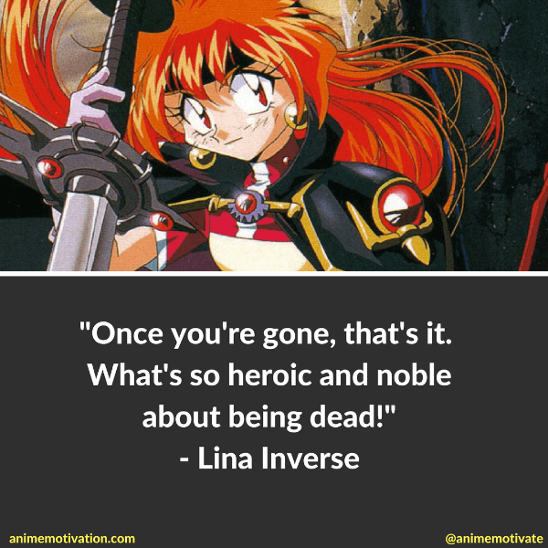 Lina Inverse Quotes 2