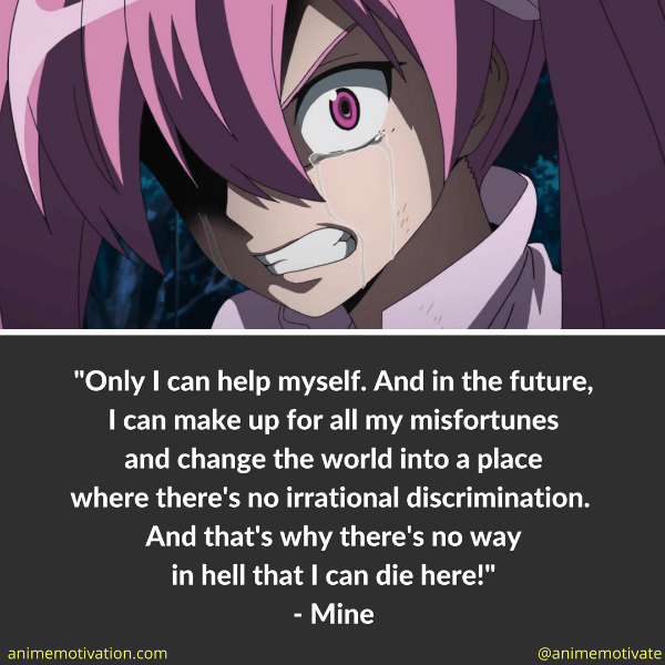 Mine Quotes Akame Ga Kill 1