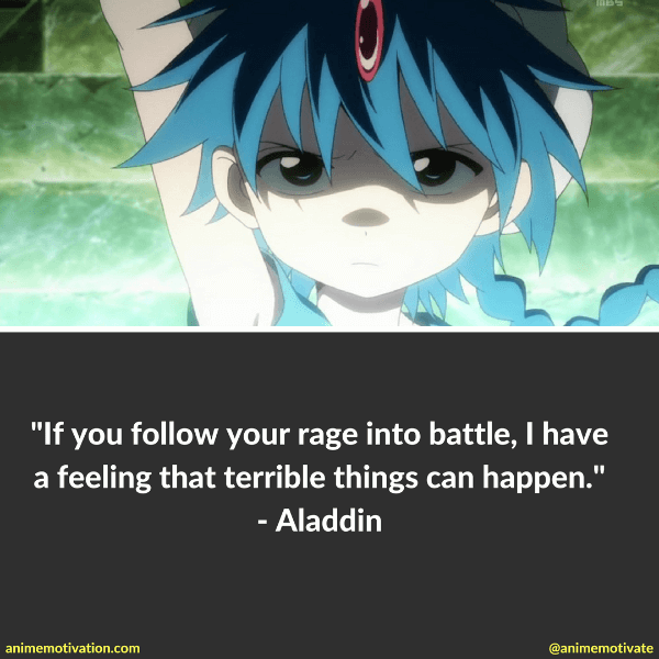 Rages Sayings Pictures And How: 7 Inspiring Aladdin Quotes From Magi Kingdom Of Magic