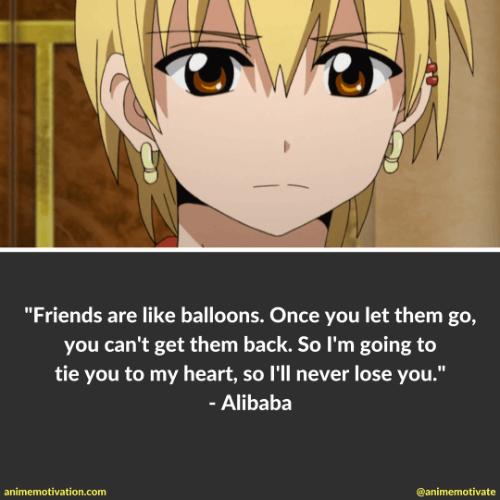 Magi Anime quotes