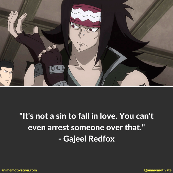 9 Gajeel Redfox Quotes For Fairy Tail Fans