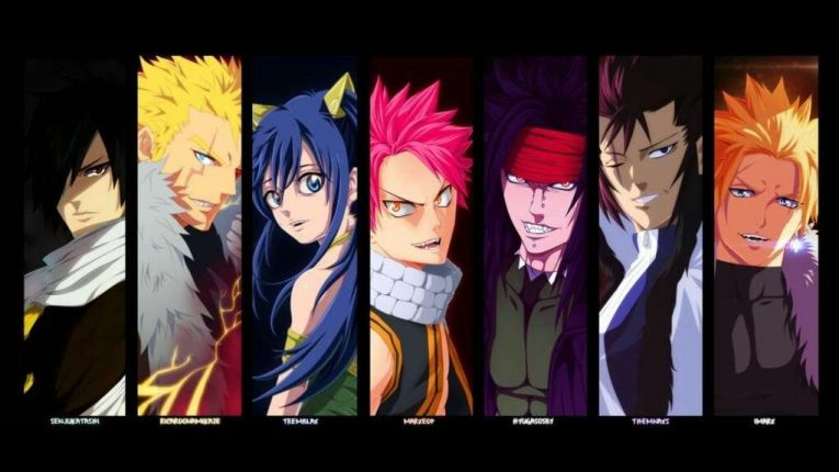 Fairy Tail Characters 1 1