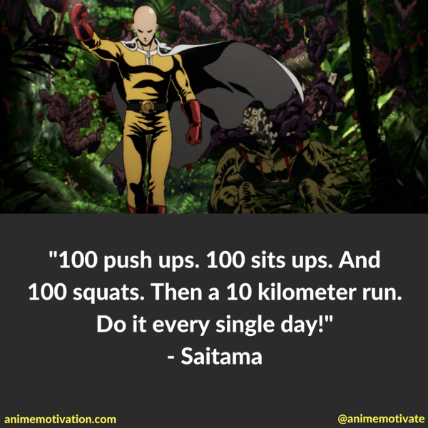 One Punch Man Anime Quotes