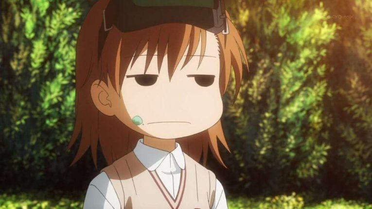 Mikoto Misaka Sisters Railgun Anime