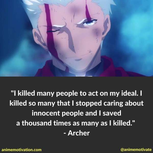 Archer Quotes Fate Stay Night 2