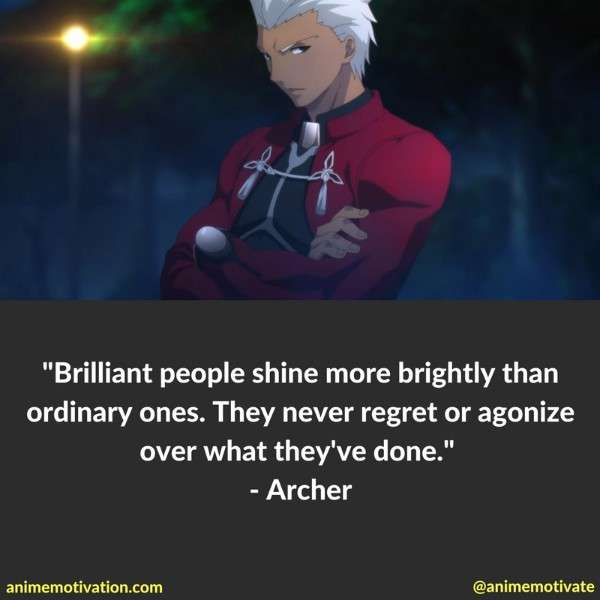 Archer Quotes Fate Stay Night 3