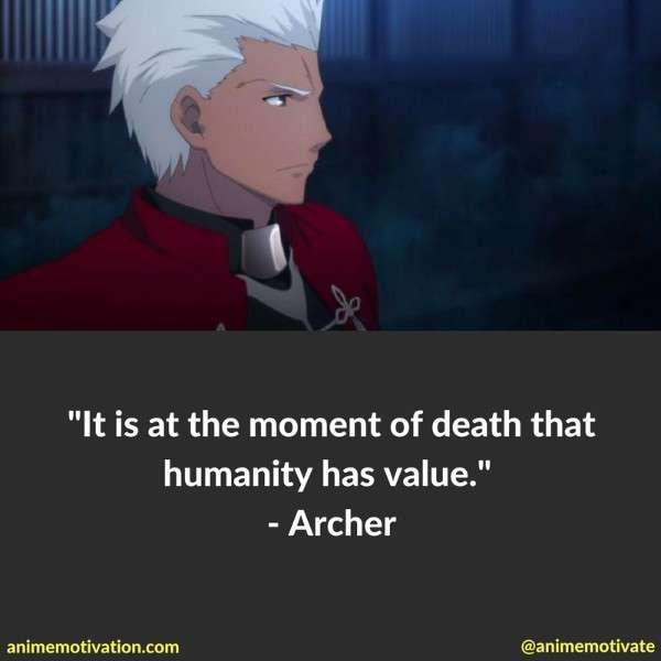 Archer Quotes Fate Stay Night 5