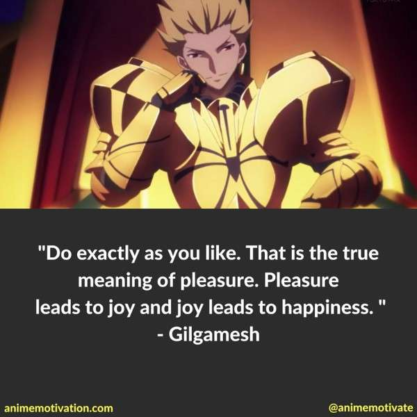 9 Gilgamesh King Of Heroes Quotes Fate Fans Will Love