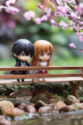 Kirito And Asuna In Spring 1
