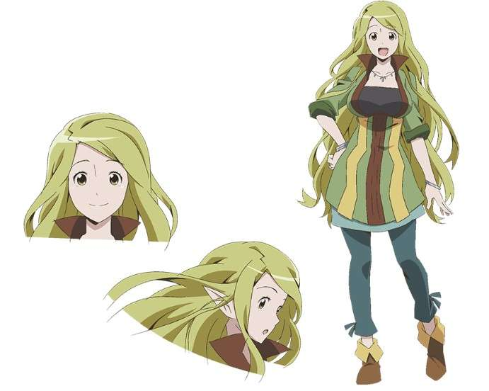 The Most Unique Green Haired Anime Girls Ever Seen In Anime