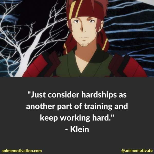 Klein Quotes Sao