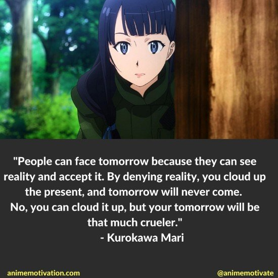 Kurokawa Mari quotes