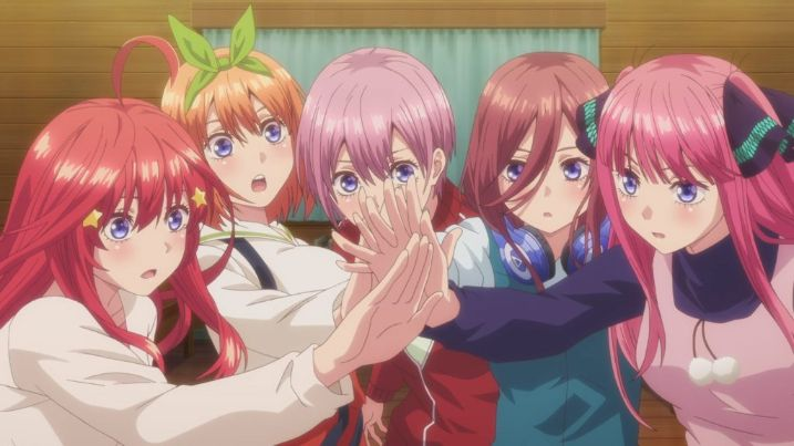 The Quintessential Quintuplets anime girls