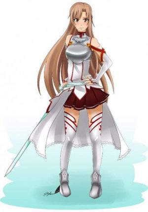 30 Asuna Yuuki Fanart Pictures That Are So Beautiful