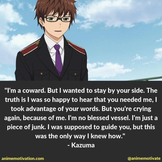 kazuma quotes noragami