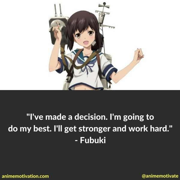 Kantai Collection Anime Quotes