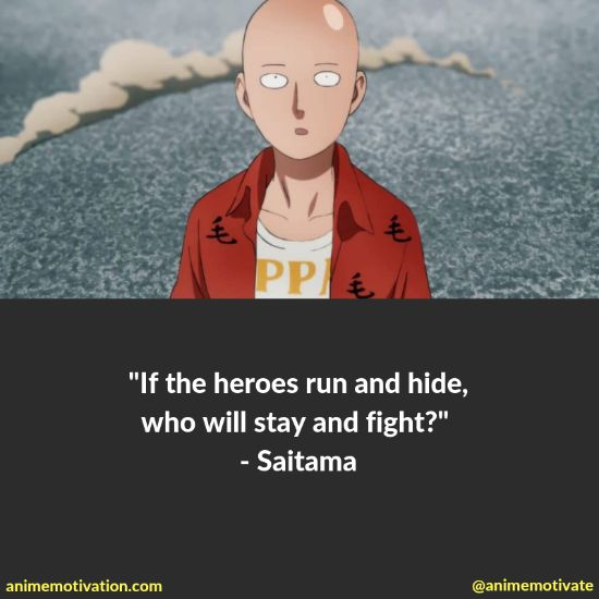 34+ Of The Mightiest One Punch Man Anime Quotes (Ultimate List)