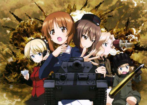 military anime shows