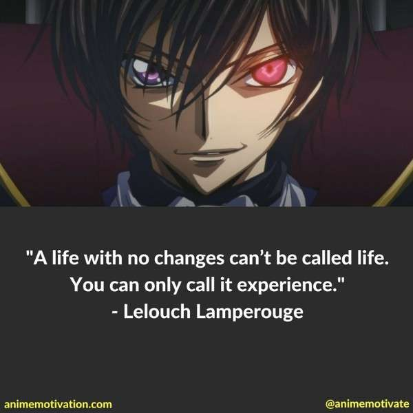 33 Of The Most Thought Provoking Code Geass Quotes