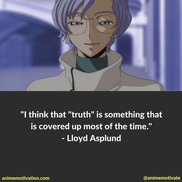 Code Geass Quotes