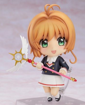 sakura kinomoto tomoeda junior high uniform ver cardcaptor sakura clear card nendoroid