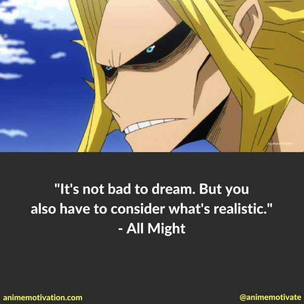 My Hero Academia Quotes
