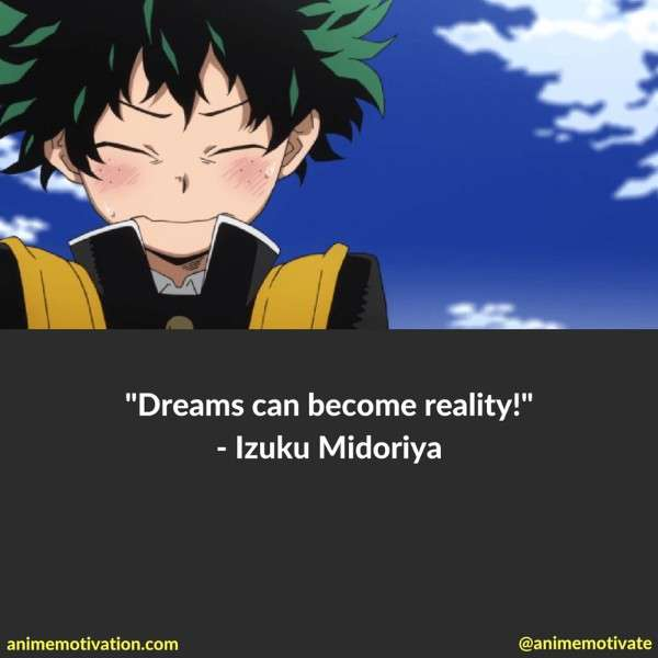 Meaningful Anime Quotes From My Hero Academia