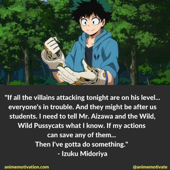 Izuku Midoriya quotes mha 1