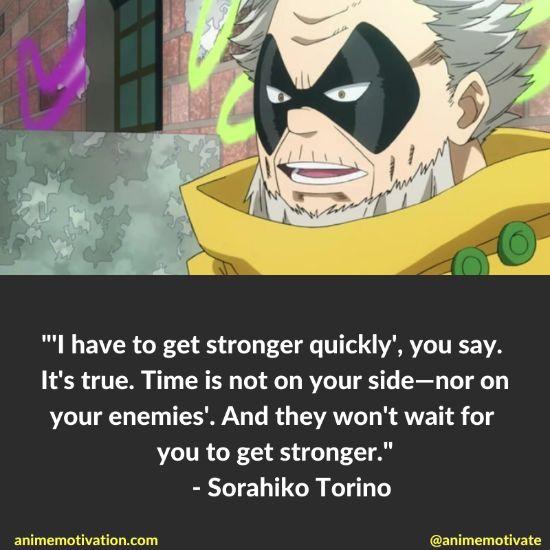 Sorahiko Torino quotes mha