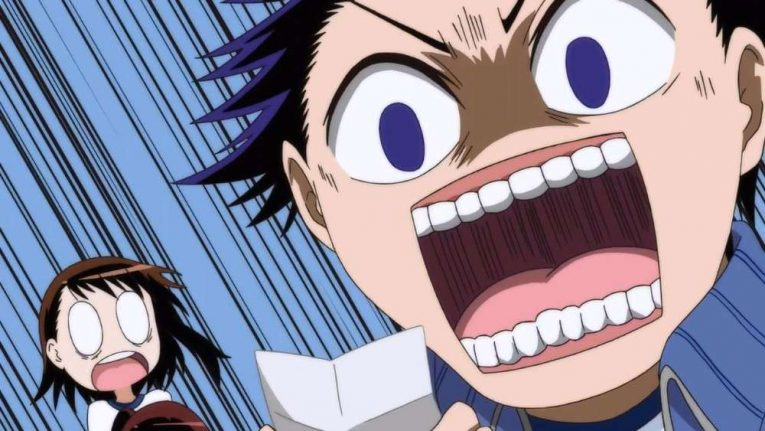 Anime Characters Going Nuts Nisekoi