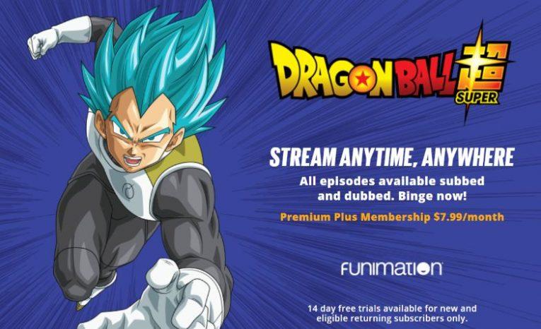 dragon ball super funimation