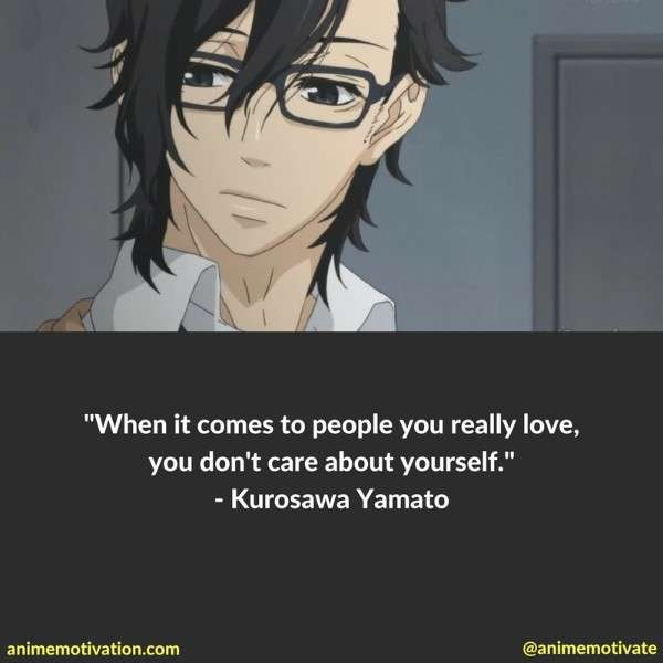 Love Anime Quotes Gorgeous The Greatest Anime Quotes About Love And Relationships