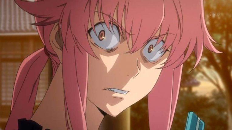 Angry Anime Girl Yuno Gasai
