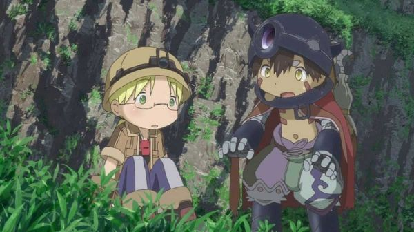made in abyss riko and reg cute