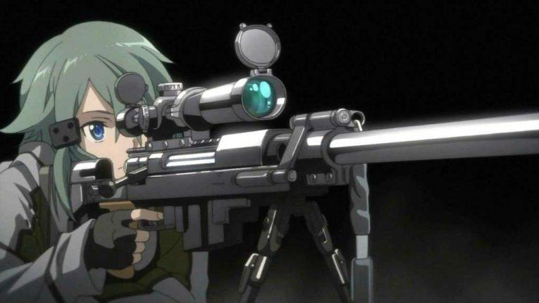 Sinon Asada Sniper Rifle Hecate