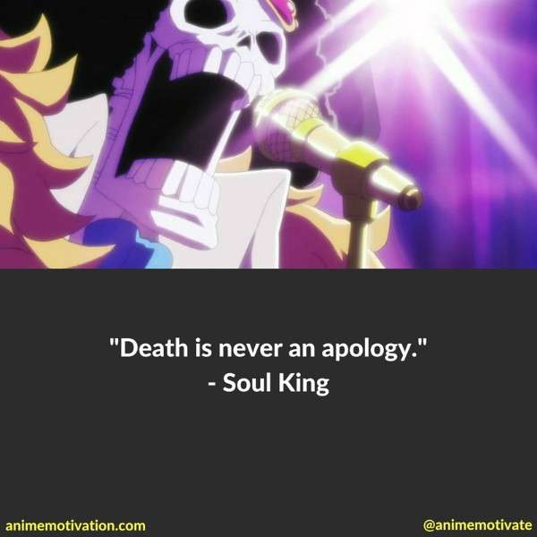 Anime Motivation Soul King Quotes 1