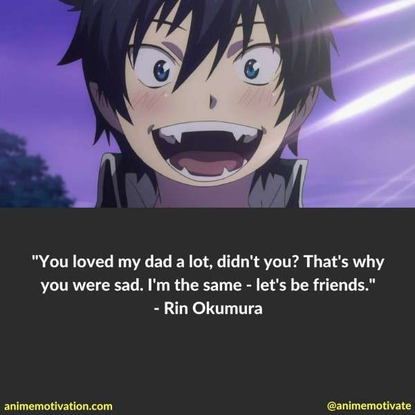 Rin Okumura Quotes 1