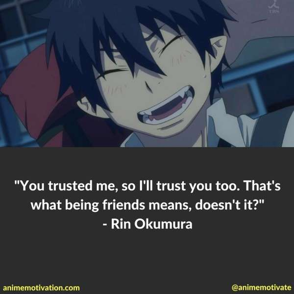 Rin Okumura Quotes 2