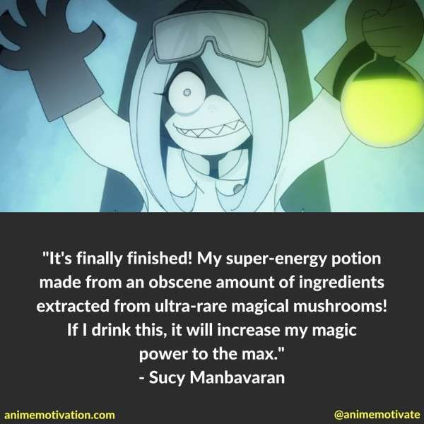 Little Witch Academia quotes