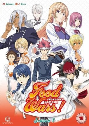 food wars front cover