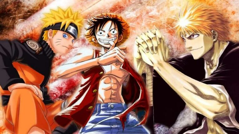 Ichigo Luffy And Naruto Wallpaper