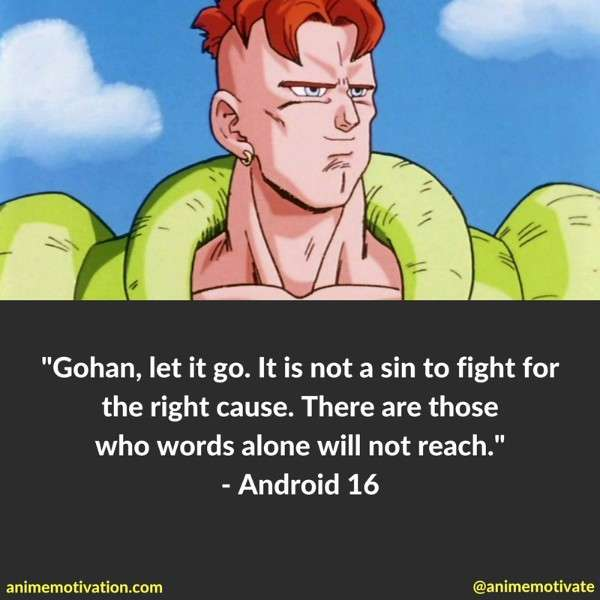 Dragon Ball Z Quotes