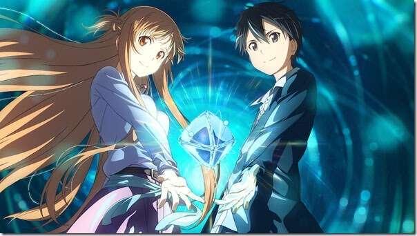 sao asuna and kirito